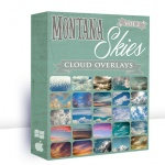 "SECOND CHANCE OFFER!! Montana Skies Cloud Overlays VOLUME 2 + BONUS ""Sky Quotes"" Word Overlays {Save 69%}"