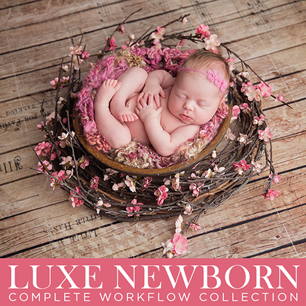 $19 for LUXE NEWBORN Complete Workflow Collection for Photoshop and PSE EXCLUSIVE Pre-Release {Save 68%}